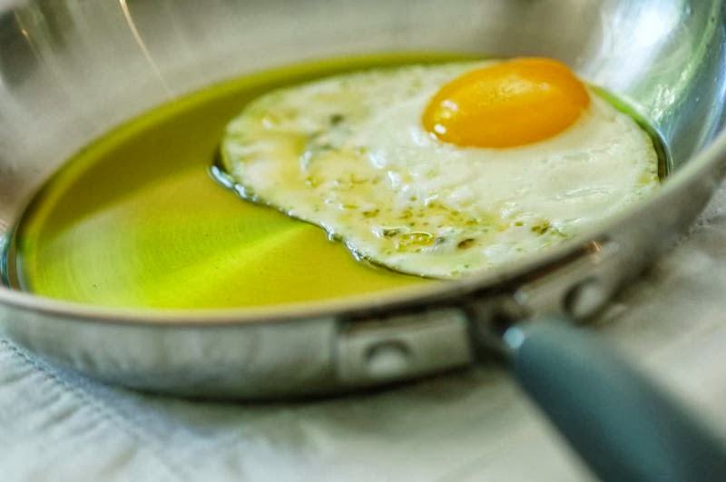 Olive Oil Benefits Still Superior Even When Heated in Cooking.